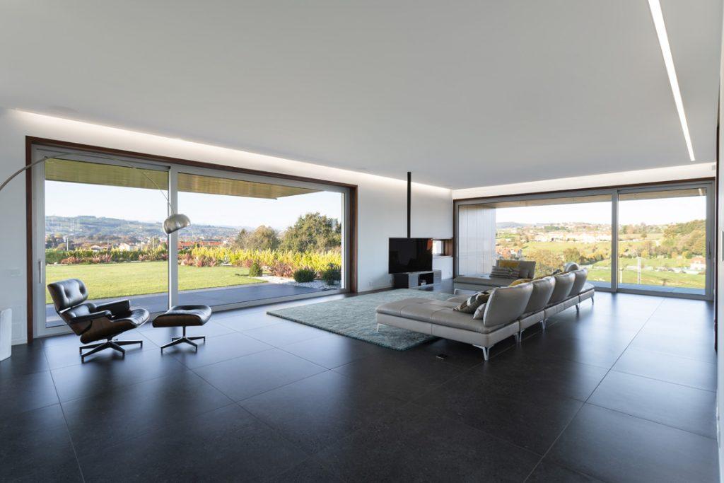 ventana de aluminino cor 4600