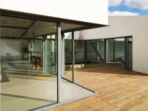 grosor ventana de aluminio