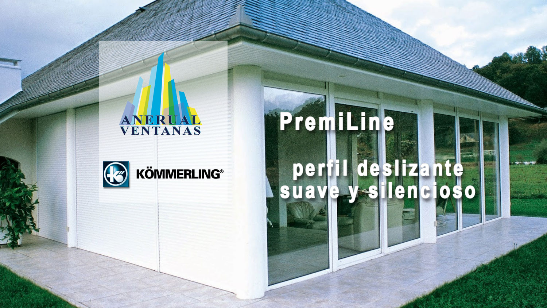 Ventana corredera Kommerling PremiLine
