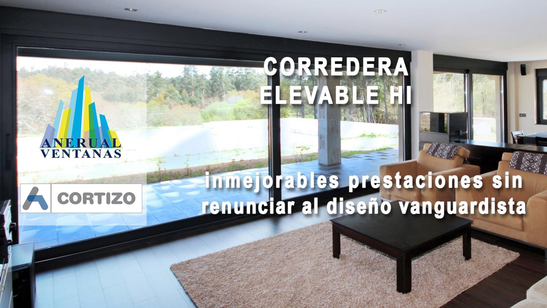 Ventana de aluminio Cortizo 4600 Corredera Elevable HI