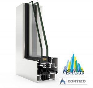 Venta a de aluminio Cor 70 de Cortizo