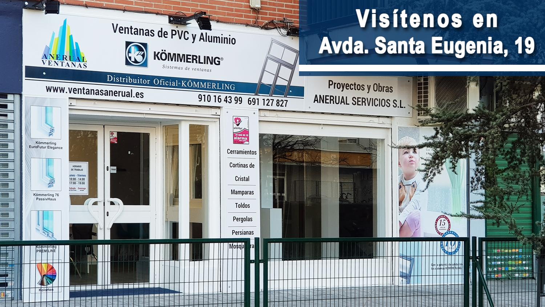 Ventanas Anerual, Avda. Santa Eugenia, 19 28031 Madrid