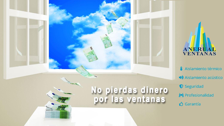No pierdas dinero por las ventanas