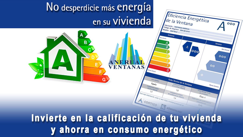 certificacion energetica ventanas