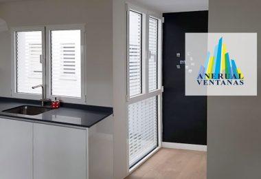 ventanas en la cocina, más iluminación y mejor aislamiento