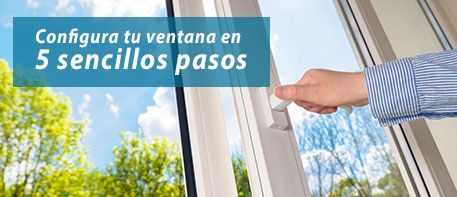 Configura tu ventana en 5 pasos