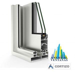 Balconera Aluminio Mediterránea de Cortizo