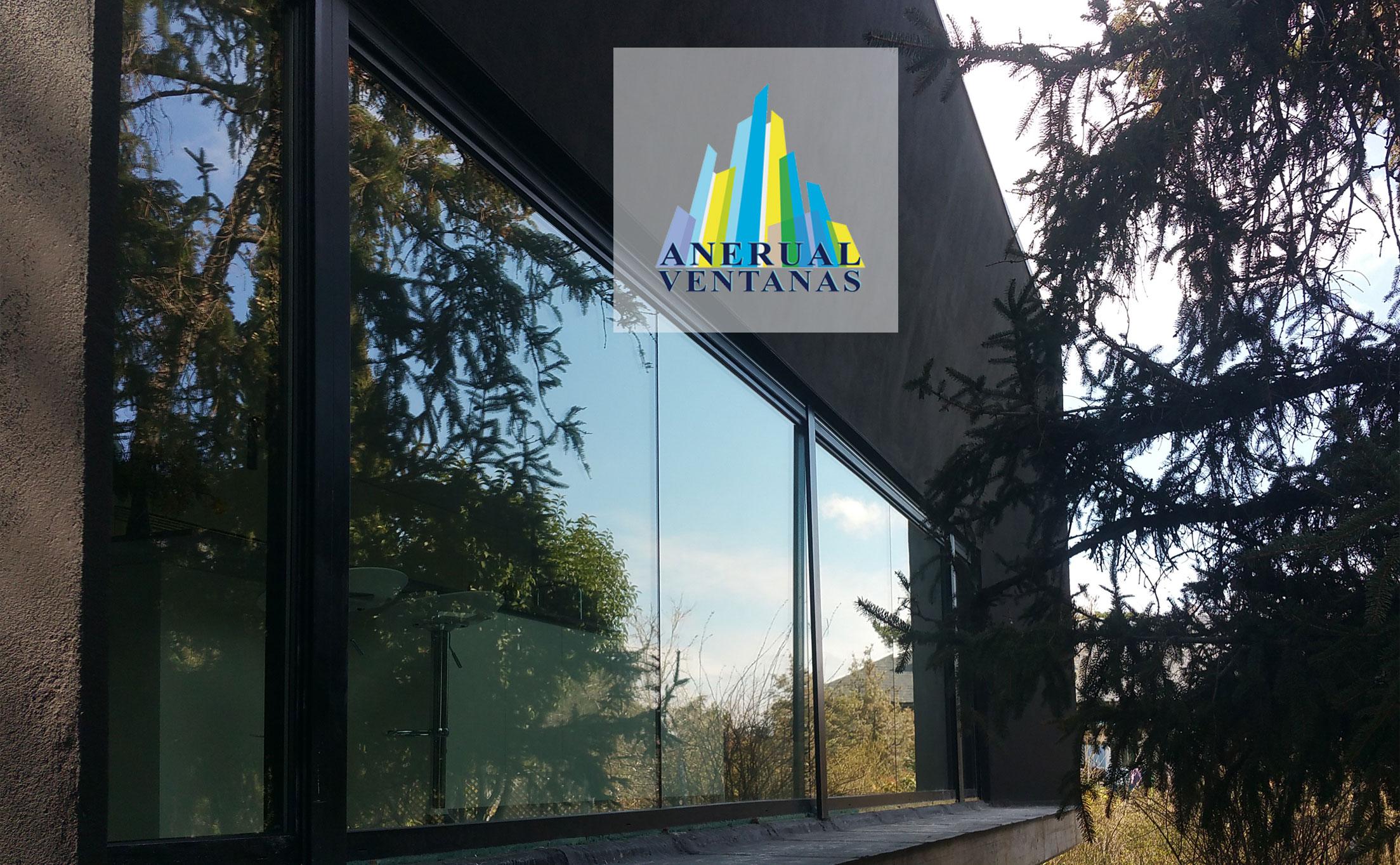 Instalación ventana de aluminio en chalet La Navata