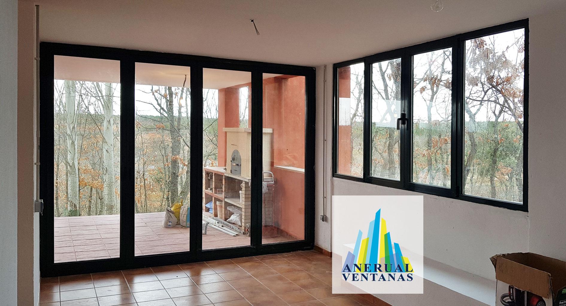 Instalacion ventana aluminio Riaza