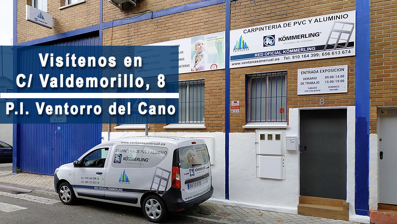 Ventanas Anerual BOADILLA, Fabrica de ventanas de PVC y exposicion en Madrid