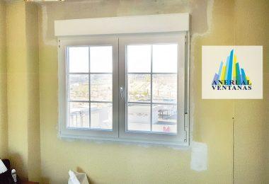 nueva ventana y cajon de persiana